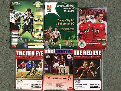 Random Assortment of Irish Club Programmes