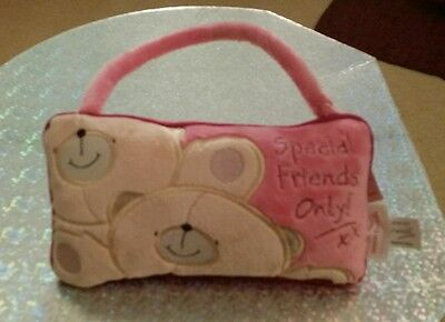 Forever Friends Pink 'Special Friends Only' Velour Door Hanger, With Tags