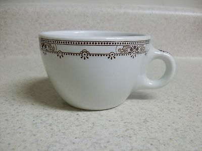 Vintage Vitrified China Liberty Pattern Coffee Tea Cup Restaurant Ware USA