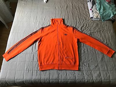 Adidas Ventex Production Made In France Orange/bleu Track Top - Personalised