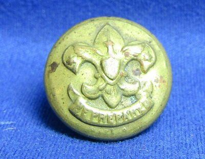 Vintage Boy Scouts Be Prepared Button by Signer Co.
