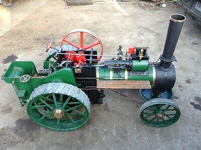 Foster 4 Inch Scale Steam Traction Engine