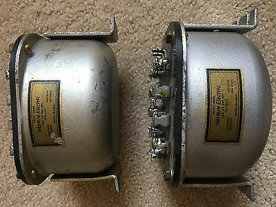 A PAIR RARE Western Electric  9A AUTO Transformer for Tube Amp  tesded