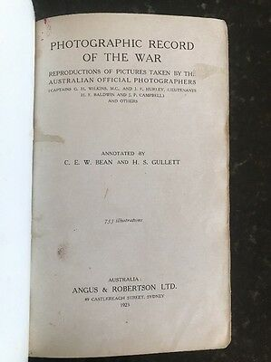 Official History of Australia in the War, Vol 12 Photographic Record of War