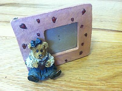 Boyds Bear Picture Frame Juliet Bearilove collectible love
