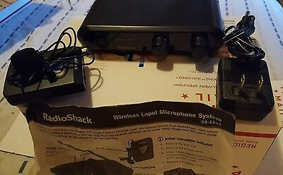 Radio Shack Professional Wireless microphone System 32-1234 w/ lapel mic