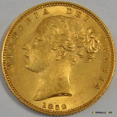 1852 Gold Sovereign Very High Grade
