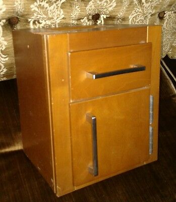 Vintage Salesman Sample EBCO EBENREITER kitchen counter cabinet mid century