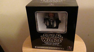 Star Wars Darth Vader Gentle Giant  Entertainment Earth Exc Bust sealed