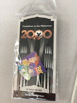 New Countdown to the Millennium 2000 Disney Pin #21 Toy Story