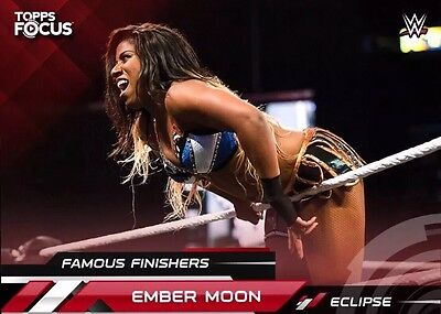 FAMOUS FINISHERS TOPPS FOCUS EMBER MOON Topps WWE Slam Digital Card