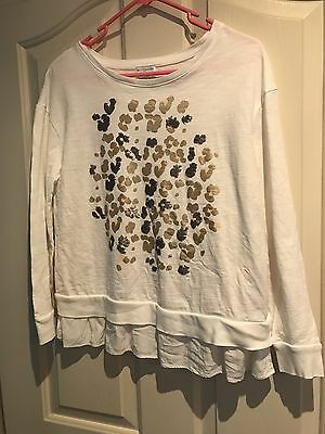 Witchery Girls Size 14 Long Sleeve Top