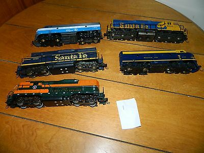 Vintage Ho Scale Lot Of Train Engines
