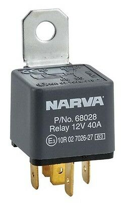 NARVA Relay 68008BL 12V 50AMP 4PIN