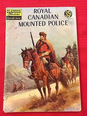 Classics Illustrated #150A Royal Canadian Mounted Police 1959, Lo to Mid-Grade
