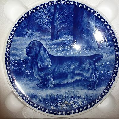 Danish Blue Lekven Design SUSSEX SPANIEL ITEM NO. 7368