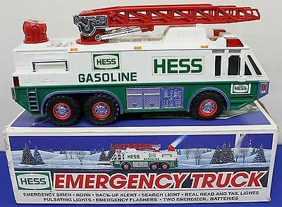 1996 Hess Emergency Truck with Box