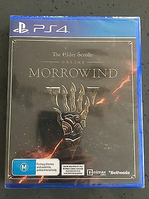 The Elder Scrolls Online - Morrowind - PS4 Playstation 4 Game Brand New Sealed
