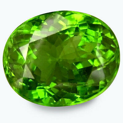 10.050 Cts WORLD RAREST COLLECTIONS! GREEN NATURAL PERIDOT OVAL GEMSTONES BURMA