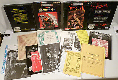 Dungeons & Dragons Role Aids Boxed Set-Demon II 759 & SENTINELS 757 UNUSED, VG++