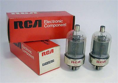 6146b x 3 RCA NOS NEw Never Used