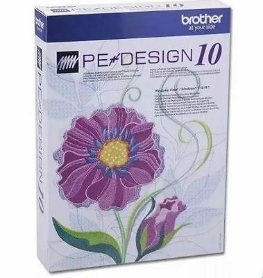 Brother PE Design 10 Embroidery software Full Version & FREE GIFTS