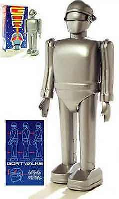 MIB Gort Galactic PolicemanThe Day the Earth Stood Still Tin Wind Up Robot