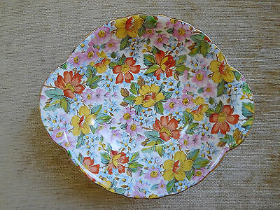 "Lord Nelson Ware ""Country Lane"" Sweet Dish Made In England 1930s"