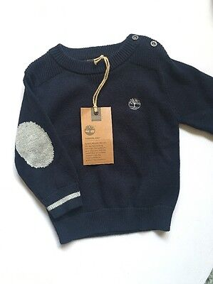 Timberland Baby Boy Sweater And Pants Brand New Size 9 Months