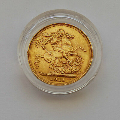 1911 George V Sovereign Coin