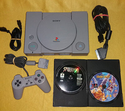 Playstation1 PS1 ***CHIPMODE*** Konsole PSX + Spiele + Controller + alle Kabeln