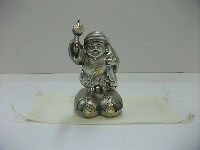 A god of wealth of the pure silver. One of Japanese Seven Lucky Gods.
