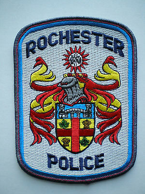IL Illinois Rochester Police patch