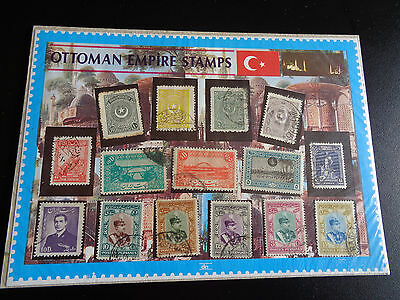 OTTOMA EMPIRE STAMP PACK EMPIRE USED STAMPS #sp155