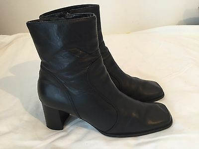 ladies sandler soft leather boots size 8