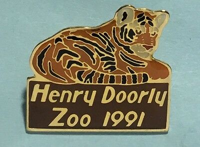 Henry Doorly ZOO - 1991 Tiger Logo Pin
