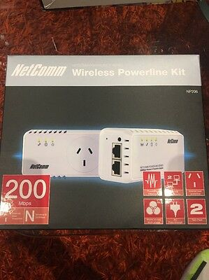 Netcomm Wireless Powerline Kit