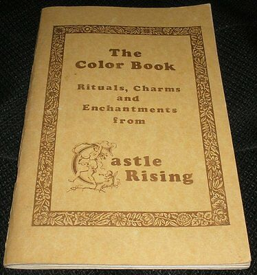 The Color Book Rituals Charms & Enchantments from Castle Rising Wicca Book RARE!