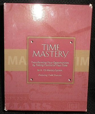 The Duncan Group TIME MASTERY 8 Audio CD Set Business Success Management Control