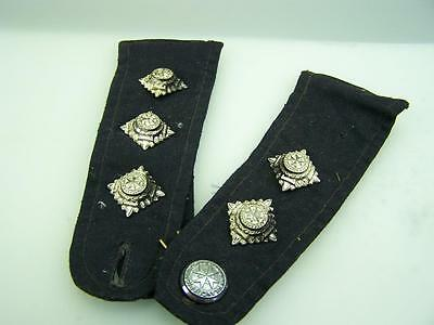 Pair St.John Ambulance epaulettes with silvered bath pips and button        2006