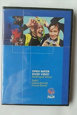 Open Water Diver Video PADI Scuba Diving MULTILINGUAL VERSION BRAND NEW DVD