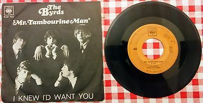 "Byrds 45 giri ""mr. tambourine man"""