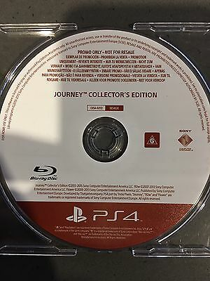 Journey Collectors Edition - PS4 Game Brand New - Promo Version Rare