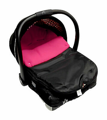Car Seat  Footmuff / Cosy Toes Compatible with Joie Dark Pink