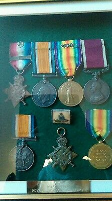 ww1 medals double issue