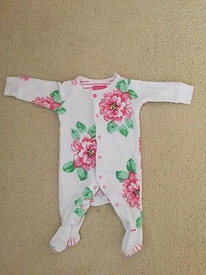 Joules Baby Girl Sleepsuit 0-3 Months