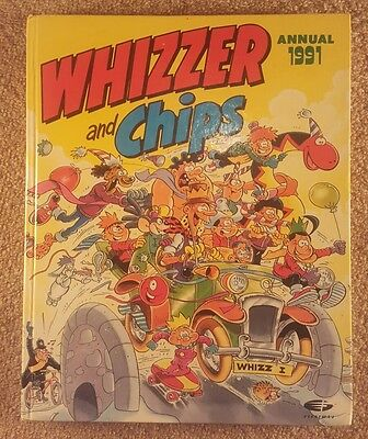 Whizzer and Chips Annual 1991