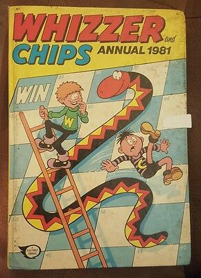 Whizzer and Chips Annual 1981 again