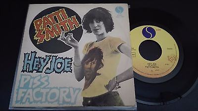 "45 Giri 7"" - Patti Smith - Hey Joe / Piss Factory -  Italy"