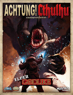 Achtung! Cthulhu Elder Godlike Crossover SC Modiphius Entertainment